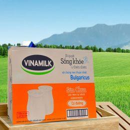 Sữa Chua Vinamilk Có Đường 100g*48 Hộp