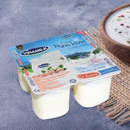 Sữa chua Vinamilk có đường 100g x 4 hộp