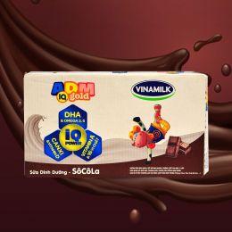 Sữa Vinamilk ADM Gold Socola 180ml*48 Hộp