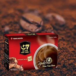Cà Phê G7 Hòa Tan Đen Trung Nguyên Hộp 15 Gói X 2G