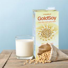 Sữa Đậu Nành Giàu Đạm GoldSoy Có Đường 1 Lít