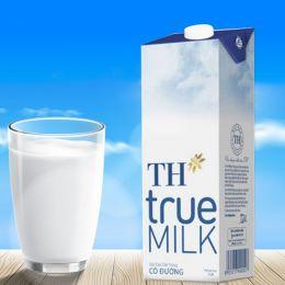 Sữa tươi tiệt trùng TH có đường 1L