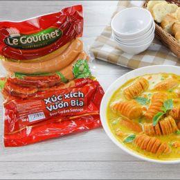 Xúc Xích Vườn Bia Le Gourmet 500g