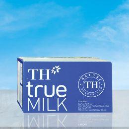 Sữa Tiệt Trùng TH Ít Đường 180ml*48 Hộp