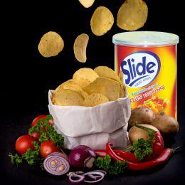 Khoai tây chiên Slide vị thịt nướng 75g