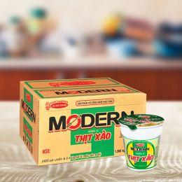Mì Ly Modern Thịt Xào Acecook 65g*24 Ly