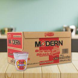 Mì Ly Modern Lẩu Thái Tôm 65g*24 Ly