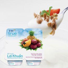 Sữa Chua Trái Cây TH True Yogurt 100g*4 Hộp