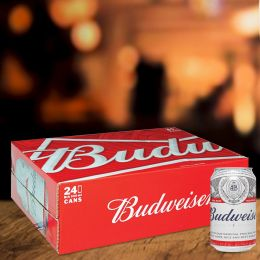 Bia Budweiser 330ml*24 Lon