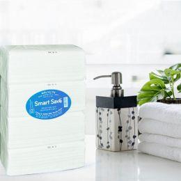 Khăn Lau Tay Smart Save 100 Tờ*4 Gói