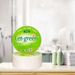 Giấy Vệ Sinh Cuộn Let Green 10*20*700g