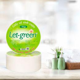 Giấy Vệ Sinh Cuộn Let Green 10*20*1kg