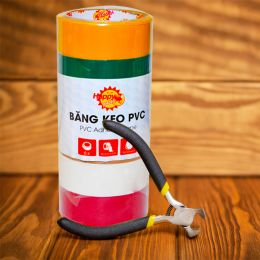 Băng Keo Pvc Happy Price 36mm*7m*6 Cuộn