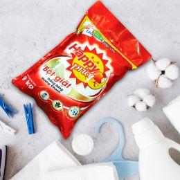 Bột Giặt Happy Price Trắng Sáng Hương Chanh 9kg
