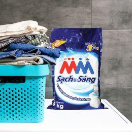Bột Giặt MM Cao Cấp Sạch & Sáng 9kg