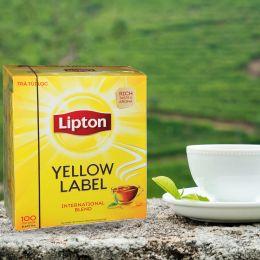 Trà Lipton Nhãn Vàng Hộp 100 Gói X 2G