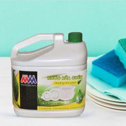 Nước Rửa Chén MM Professional Hương Trà Xanh 5 Lít