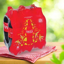 Nước ngọt Coca Cola giảm đường lốc 6 chai x 1.5L