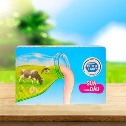 Sữa Tiệt Trùng Cô Gái Hà Lan Dâu 110ml*48 Hộp