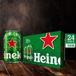 Bia Heineken 330ml*24 Lon Fest/ Thùng