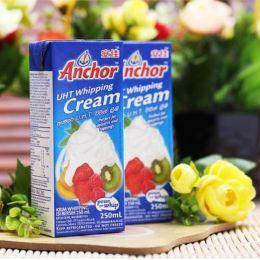 Kem Sữa Tiệt Trùng Anchor 250ml