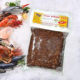 Cua Đồng Xay Đông Lạnh 500g